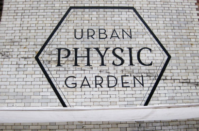 Urban Physic Garden Sign